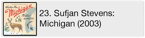23. Sufjan Stevens - Greetings From Michigan (2003)