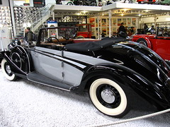 Maybach SW 38 (pilot_micha) Tags: auto car museum germany deutschland d convertible oldtimer cabrio cabriolet maybach halle2 technikmuseum badenwrttemberg sinsheim automuseum autoundtechnikmuseum autotechnikmuseumsinsheim baujahr1937 maybachsw38