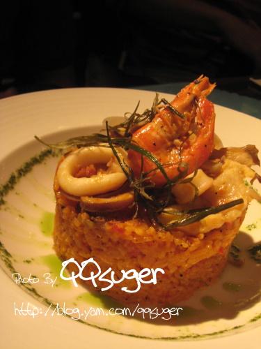 你拍攝的 海鮮燉飯。