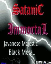glitt1 (Satanic Immortal) Tags: logo merchandise immortal satanic
