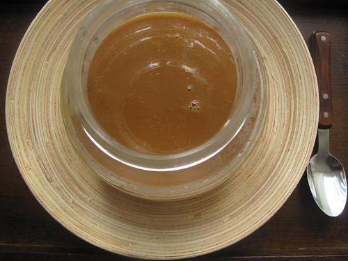 Caramel curd