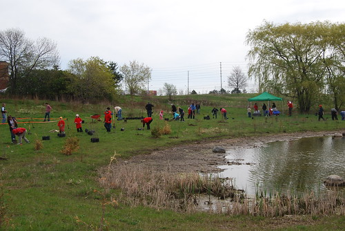 April Month of Action - Tree Planting, Toronto