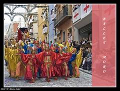 Ballet Moro (© Marco Antonio Soler ) Tags: ballet españa de la spain nikon y 10 abril fiestas alicante entrada jpg hdr comunidad valenciana alcoy alcoi bailarina festes 2010 cristians mora alacant moros cristianos bailarinas d80 l´entrá