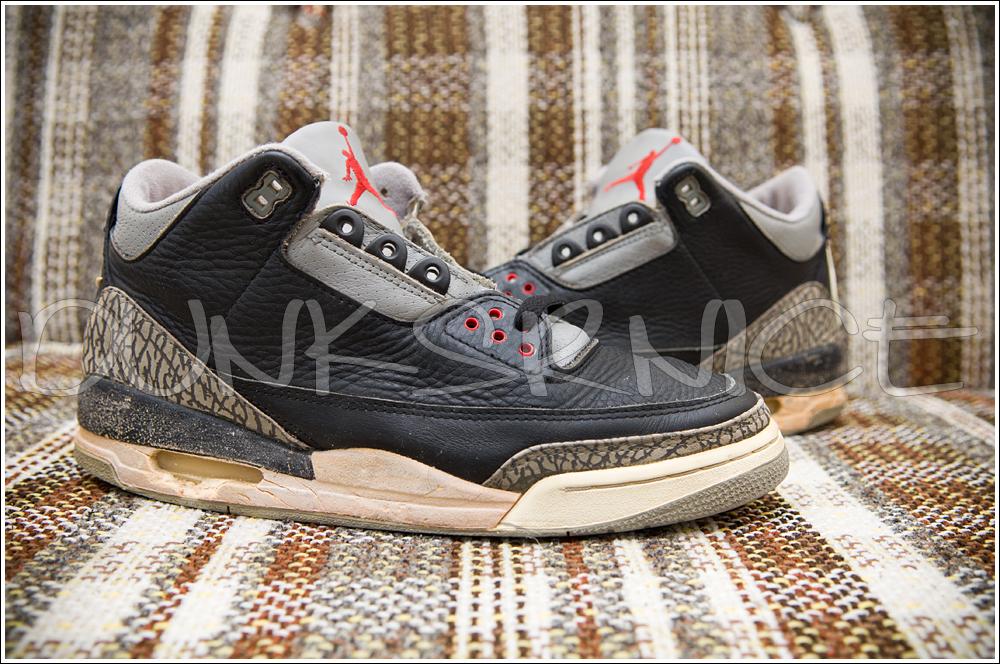 1998 Black Cement III's.