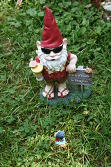 A cool party gnome