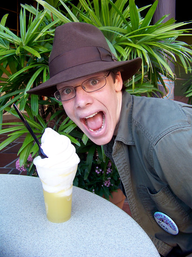 Kirk and the Dole Whip Float