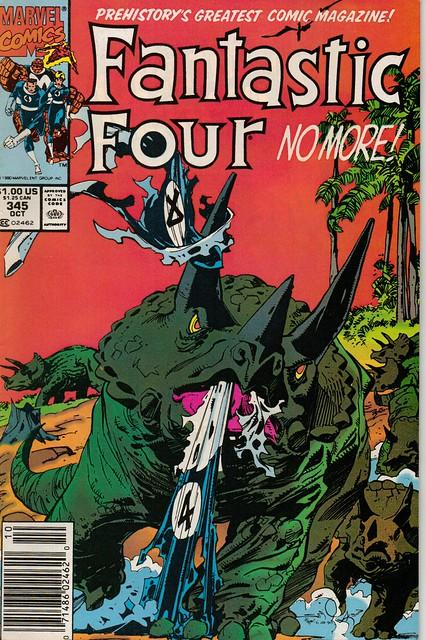 Fantastic Four 345