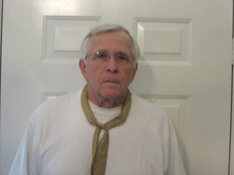Grandpa wearing his scarf