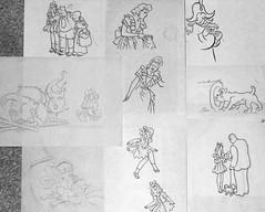 Patsy sketches (Michael Vance1) Tags: art girl comics artist adventure comicbooks comicstrip goldenage cartoonist