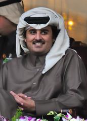 Sheikh Tamim Bin Hamad Al-Thani- الشيخ تميم بن حمد آل ثاني (Ashraf Khunduqji) Tags: portrait sport nikon royal tennis qatar 70200mm d300