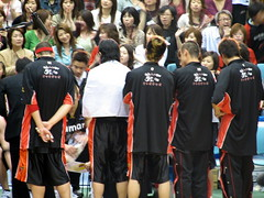 IMG_3108 (glazaro) Tags: city basketball japan japanese asia stadium arena dome  osaka sendai kansai kadoma namihaya bjleague evessa 89ers