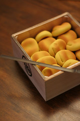 new year treat (hanabi.) Tags: food japan manju