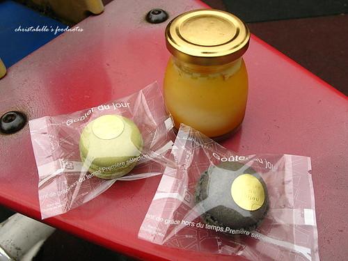 珠寶盒焦糖布雷與macaron