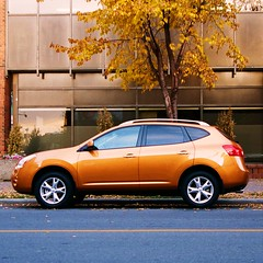 nissan rogue (jh_dasphotografikmann) Tags: orange cars nissan rogue automobiles justpentax