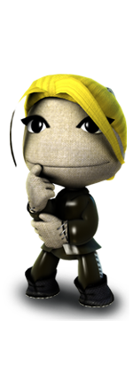Thinking Sackgirl