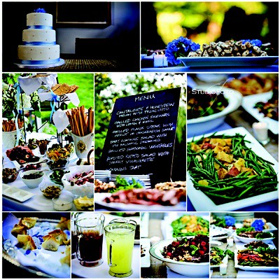 Weddings, Food: Chalkboard Menu by camillestyles.