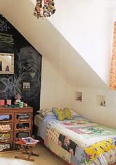 cute bedroom (lorryx3) Tags: inspiration cute vintage bedroom buttons scan patchwork chalkboard blackboard bazaarstyle