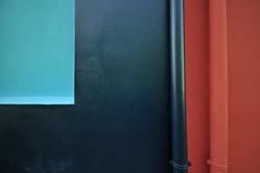 DSC_3620 (fuori posto) Tags: blue red rot azul composition rouge rojo nikon blu tubes bleu blau hellblau rosso lightblue drains celeste composizione geometrie d300 tubi rohre downpipes zusammensetzung descente geometras geometries sigma1020 descendants discendenti bleuclair lesgouts azulclaro rinnen scarichi desages lostubos nachkommen lacomposition pluviali lestubes lacomposicin fallrohre lesdescendants lesgomtries losdescendientes geometrien