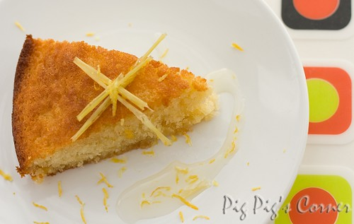 ginger lemongrass cake4