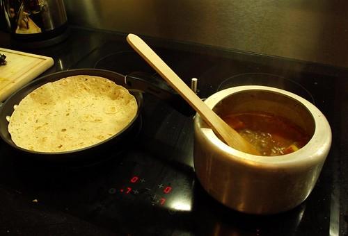 Roti Sabzi.