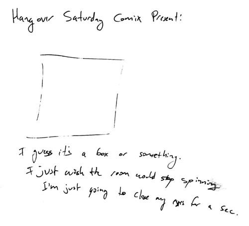 366 Cartoons - 005 - Saturday Hangover Comix