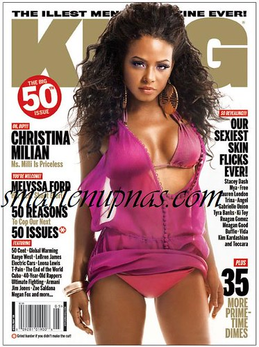CHRISTINA MILIAN KING MAGAZINE PHOTOSHOOT VIDEO