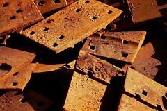 Beauty in Rust and Shade (Mertonian) Tags: railroad brown robert utah rust steel tracks shade cowlishaw mertonian robertcowlishaw