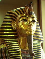 Travelling with Osiris (Sven Rudolf Jan) Tags: gold mask jan egypt cairo tutankhamen pharao hasselberg janhasselberg