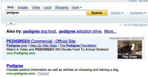 Yahoo Search Video Ads