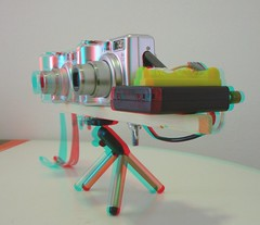 Variable Base Stereo Rig (Anaglyph 3D) (patrick.swinnea) Tags: