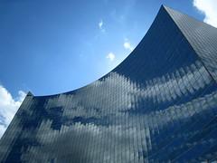 Reflecting the Sky (swisscan) Tags: blue sky cloud toronto reflection building window glass office superaplus aplusphoto