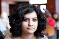 36/100 - Sara (Robert P Baxter) Tags: portrait girl female nikon indian strangers 100 nikkor 70300mm vr d90 f4556