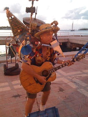 Crazy Music Guy @ Mallory Square