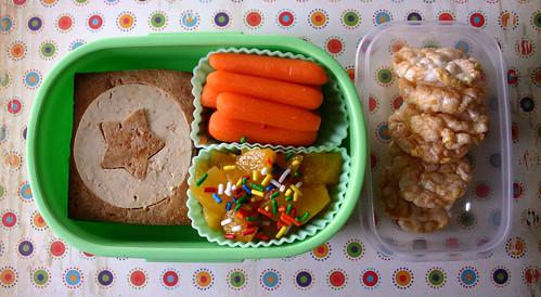 Preschooler Bento #169: April 23, 2009