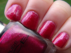 Pure Ice Iced Merlot (PuckLizardRN) Tags: red wine nailpolish shimmer pureice icedmerlot