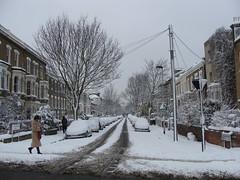 Snow in Brixton