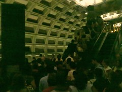 Foggy Bottom Platform Escalator Fail