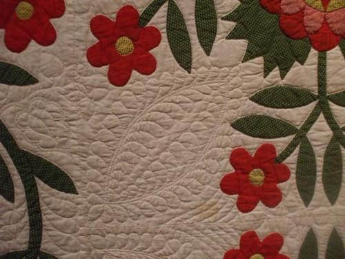 Whig Rose - Applique - circa 1830s-50s