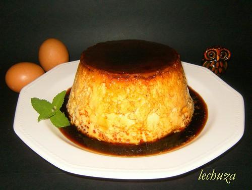 flan de huevo+