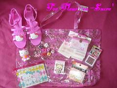 For Julie aka Fleur-en-Sucre' (Pinky Anela) Tags: france japan tokyo hellokitty sanrio gift swap kawaii deco pinkyanela fleurensucre