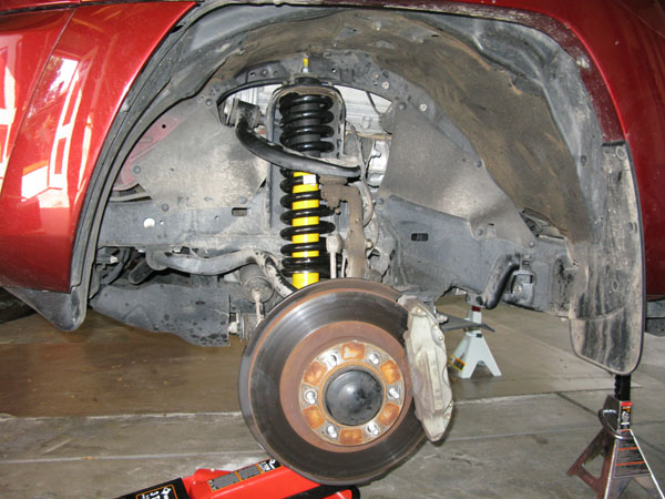 how to change front springs without spring compressor