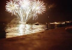balcony night (Mityaj_one) Tags: night landscape iso100 ship fireworks kodak ukraine quay seafront sevastopol embankment profoto canon33