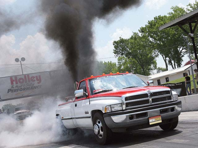1997 Dodge ram 3500 cummins burnout