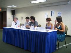 Panel sur l'écriture et ses techniques