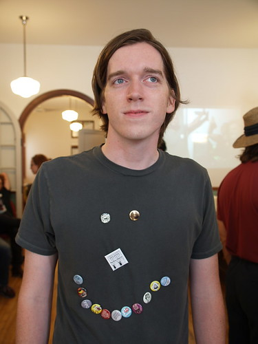 Michael K. Graphic Designer, Button Lover