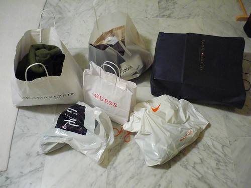 Outlet shopping result