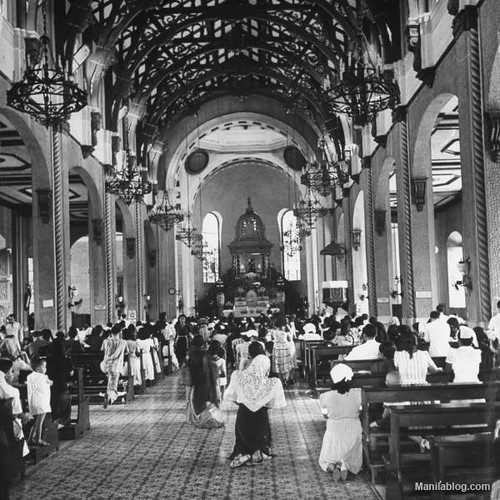 Quiapo Church 1930s