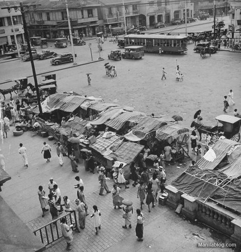Plaza Miranda Quiapo 1930s