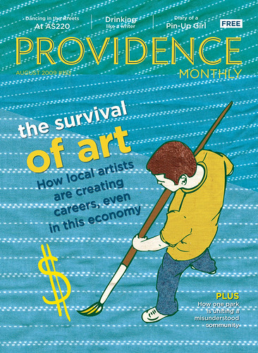 Providence Monthly cover illustration