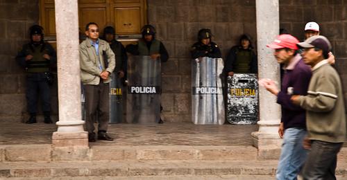 Police, Cuzco, Pérou